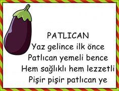 PATLICAN Turkish Lessons, Turkish Language, Nursery Rhymes, Malta, Drama, Activities For Kids, Activities, School Supplies, Malt Beer