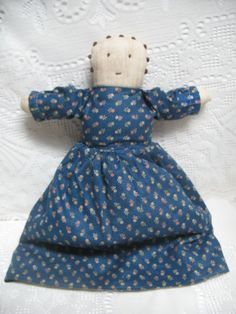 Vintage Topsy Turvy Doll Two Sided Cloth by TeaTimeVintageShop