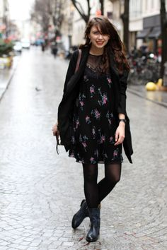 Rainy Paris with our Gina biker boots !