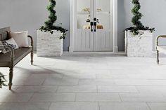 White Quartzite Tile - x - 100155589 Bamboo Laminate Flooring, Stone Flooring, Wood Laminate, Concrete Floors, Faux Brick Panels, Brick Paneling, Luxury Vinyl Tile, Luxury Vinyl Plank, Outdoor Tiles Floor