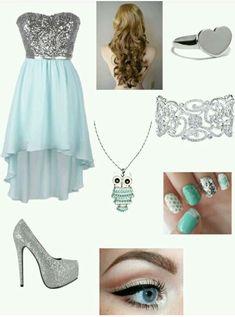 Annabeth at prom