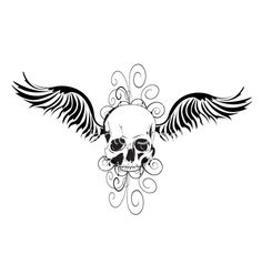 I want the wings but not the skull