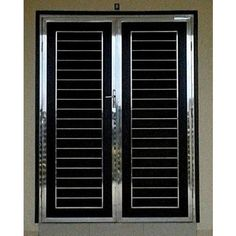SS Main Double Leaf Door, mm online India from Indian vendors at RollingLogs. We are dedicatedly involved in providing an excellent quality array of Main Double Leaf Door, for ca Steel Grill Design, Steel Railing Design, Grill Gate Design, Balcony Railing Design, Window Grill Design, Modern Window Grill, Iron Main Gate Design, House Main Gates Design, Front Gate Design