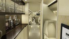 Brabus Private Aviation Interior Design