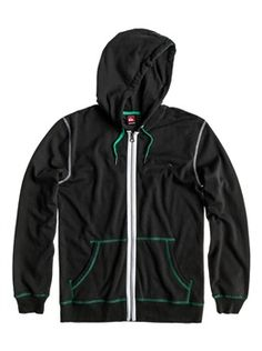 QUIKSILVER LIGHTEN KRMSW092-/13PE  Hoodies are just about the most versatile item you can addto your wardrobe, you can wear it whether you're at the beach, enjoying a sunset BBQ or checking the surf! This hoodie comes with stylish contrast details and visible zip tape. The features of this product include: Lightweight fleece, hooded, 240 gsm, brushed lining, visible zip tape, contrasted lace and eyelet, contrasted flatlocks, metal logo badge on chest.