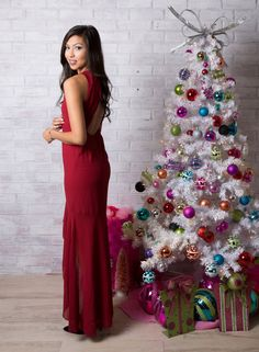 Holiday Tier Detail Maxi