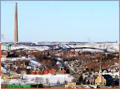 SUDBURY ON - St Jean Brebeuf diagonally to Superstack - edited Sudbury Canada, Good Old, Apartment Ideas, Ontario, Paris Skyline, Dolores Park, City, Travel, Vintage