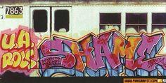 www puregraffiti.com. Nothing but famous New York Subway art