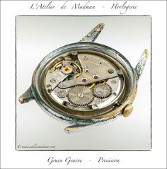 Gruen Vintage Watch - … but the movement is in good shape and working. The bulk of the work will be con the case and dial.