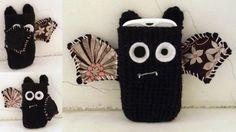 Vampire Bat Phone Case from Cult of Crochet