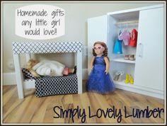 "18"" doll furniture"