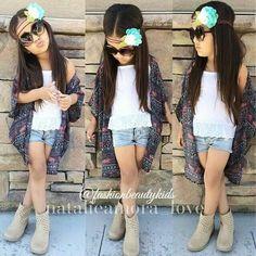 Little girls fashion, kids fashion.
