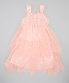 Loving this Coral Sparkle Tutu Dress - Infant, Toddler & Girls on #zulily! #zulilyfinds $24.99