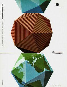 Erik Nitsche -Round shapes to geometrical- b.y
