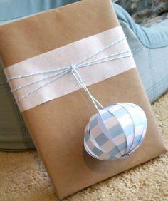 paper lantern - twine gift