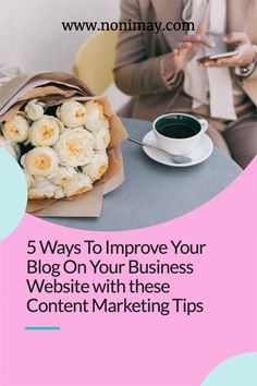 The more influence you can create online, the better your company will benefit from it. The blog part of your website should be performing effectively in order to create more noise in your industry, and if you haven't got one yet, then now's the time to do so. Here are five ways to improve your blog on your business website with content marketing. #blog #blogging #contentmarketing #marketing Business Website, Business Tips, Promotion Tools, Content Marketing Strategy, Pinterest For Business, Blogger Tips, Free Blog, New Things To Learn, Blogging For Beginners