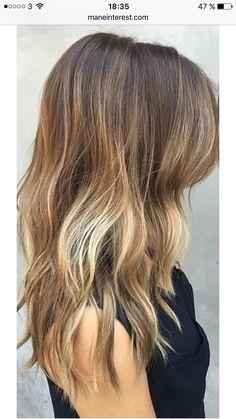 Unique Boxed Ombre Hair Color