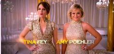 Tina Fey and Amy Poehler. Who's ready for the GG Awards, with this too hosting I know I am lol