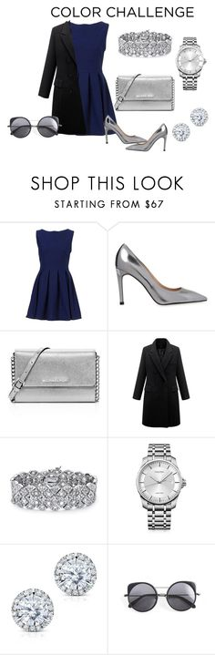 """""""Silver obsession"""" by mariasaenz73 on Polyvore featuring moda, Whistles, MICHAEL Michael Kors, Palm Beach Jewelry, Calvin Klein, Kobelli y Wood Wood"""