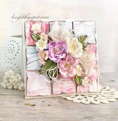 Wild Orchid Crafts: Another patchwork card