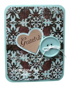 For @Splitcoaststampers Hope You Can Cling to with a technique from @melstampz