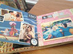 Nice 20+ Stylish Ideas For Your Scrapbook Wedding Guestbook https://weddmagz.com/20-stylish-ideas-for-your-scrapbook-wedding-guestbook/