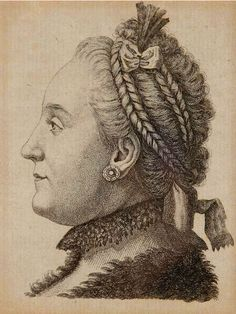 Catherine II of All The Russias, nee Sophie of Anhalt-Zerbst