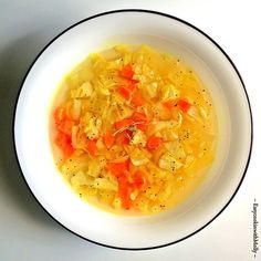 Cabbage Soup with Turmeric & Ginger ~ Delicious, Healthy & Soothes Itchy throat, cold and fever. Ready in 10mins. #vegan #glutenfree #recipe #coldandflu
