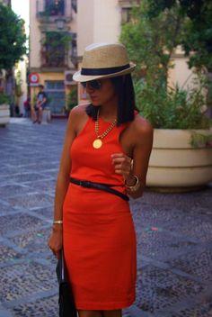 El Blog de Chuchus: GERBERA...crazy over the top of this dress!