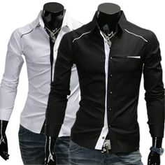 Slim Fit Contrast Trim Dress Shirt http://www.sneakoutfitters.com/Fall-2013-Collection/Slim-Fit-Contrast-Trim-Dress-Shirt-p4222.html