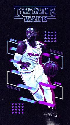 NBA Basketball Dwyane Wade - Beautiful and Different Ideas Miami Heat Basketball, Basketball Videos, Basketball Workouts, Basketball Design, Basketball Goals, Basketball Pictures, Basketball Legends, Sports Basketball, Basketball Players