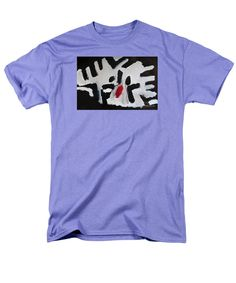 Patrick Francis Lavender T-Shirt featuring the painting White Tiger 2014 by Patrick Francis Graphic Shirts, Tee Shirts, Animal Graphic, Shirt Style, 3 D, T Shirts For Women, Abstract, Mens Tops, Shopping