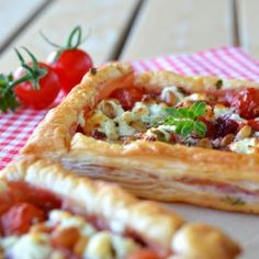 Puff pastry tartelettes