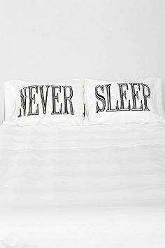 The Rise And Fall Never Sleep Pillowcase - Set Of 2
