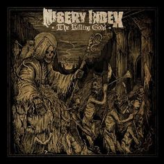 Misery Index - The Killing Gods Limited Edition Colored Vinyl 2LP January 6 2017 Pre-order
