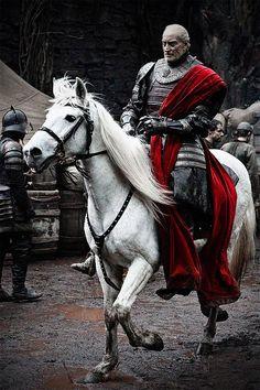 """Caballo de Tywin Lannister """"Juego de Tronos"""""""