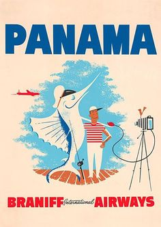 Braniff Airlines to Panama