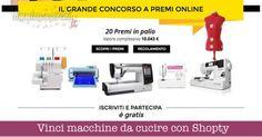 BuoniSconto: #Vinci #macchine da #cucire con Shopty. Partecipa gratis! (link: http://ift.tt/2cFm8jG )