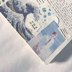 Kpop journal aesthetic ideas Kim Seokjin Birthday, Birthday Letters, Journal Inspiration, Journal Ideas, Journal Aesthetic, Aesthetic Painting, Korean Aesthetic, Bullet Journal Inspo, Kpop