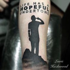 Tyler Joseph , Twenty one pilots tattoo for Andy @lewishazlewood Stag and Dagger tattoo Somerset south west UK