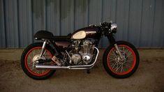 HONDA CB550 - KOTT MOTORCYCLES - HELL KUSTOM