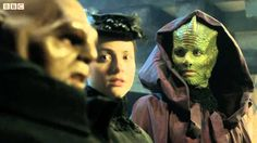 """Doctor Who: The Great Detective Snowmen Prequel... I finally found the clip where Strax actually says, """"Damn Moon."""""""
