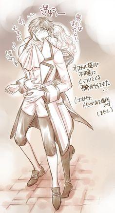 Lady Oscar, Book Characters, Anime Manga, Fan Art, Drawings, Beautiful Couple, Clamp, Originals, Versailles