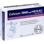 CALCIUM 1000 HEXAL Brausetabletten rezeptfrei in der Versandapotheke