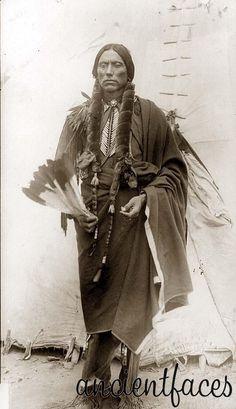 Joseph Quanah Parker of the Nez Perce, Wallowa Band.