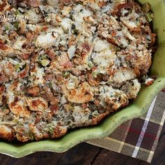 Turkey Sausage and Herb Stuffing - Save favorite recipes on Pinterest right to your recipe box. get.ziplist.com/clipper