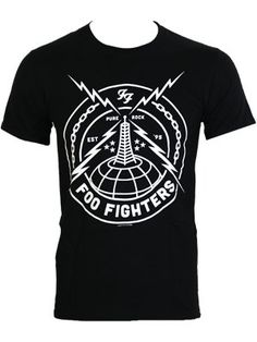 foo fighters shirts - Google Search