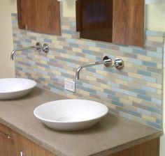 ClayHaus bath with soft skinny bricks looks so fun!