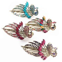 Jewelry & Accessories Analytical 2018 New Fashion Vintage Hairpins Women Red Crystal Leaf Hairpin Kids Girls Bride Wedding Bowknot Hair Clips Jewelry Accessories To Assure Years Of Trouble-Free Service