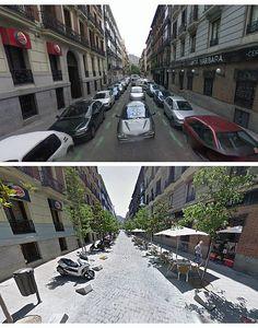 ESPAÑA-Galería Antes | Después - transformaciones espacio público./Before | After Gallery - public space transformations.SPAIN